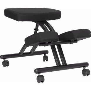 Height Adjustable Kneeling Chair With Dual Wheel by Offex Reviews