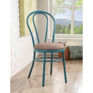 Kaidence Upholstered Dining Chair (Set of 2) Highland Dunes