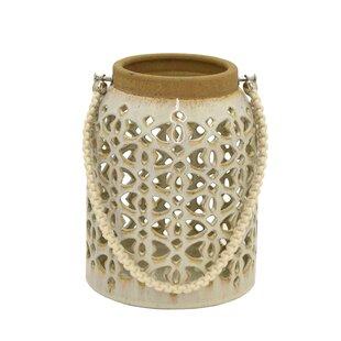 Bungalow Rose Ceramic Lantern