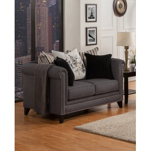 Astoria Grand Henson Chesterfield Loveseat