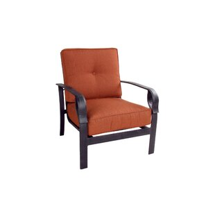 Waynesburg Deep Seating Club Chair with Cushions By Red Barrel Studio