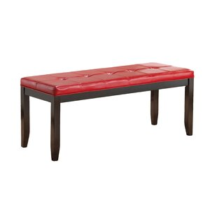 Glory Furniture Faux Leather Bench