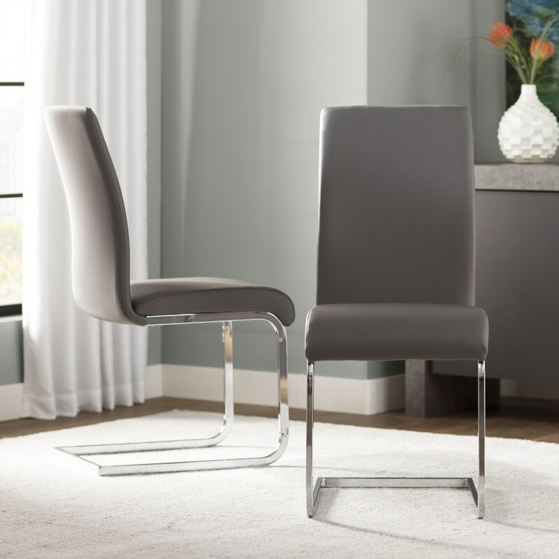Wade Logan Ramsey Upholstered Dining Chair (Set of 2)