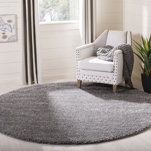Zulema Charcoal Area Rug by House of Hampton
