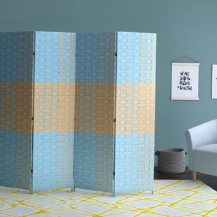 Savings Symone 4 Panel Room Divider By Ebern Designs