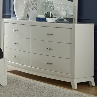 Darby Home Co Loveryk II 6 Drawer Double Dre..