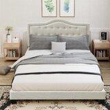 Sandston Queen Low Profile Standard Bed by Red Barrel Studio®