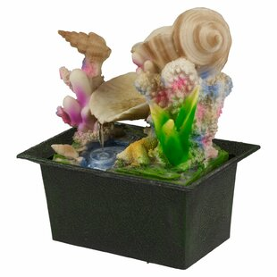 Doonfin Battery Coral Reef Ceramic Fountain By Sol 72 Outdoor