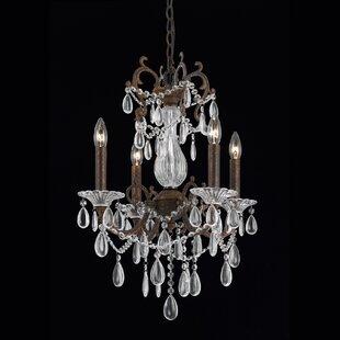 Astoria Grand Nebeker 4-Light Candle Style Chandelier