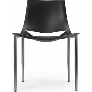 Modloft Sloane Genuine Leather Upholstered Dining Chair