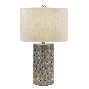 Denya Ceramic Column 28 Table Lamp