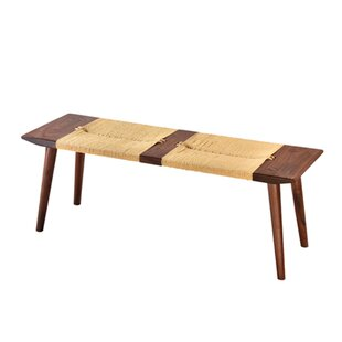Union Rustic Stanley Wood Bench