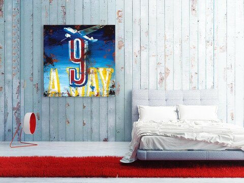 Rodney White 9 Away By Rodney White Vintage Advertisement On Wrapped Canvas Wayfair