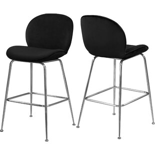 Bhreatnach 26.5 Bar Stool (Set of 2) Orren Ellis