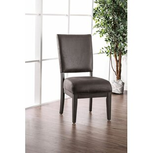 Delphos Upholstered Dining Chair (Set of 2) Gracie Oaks
