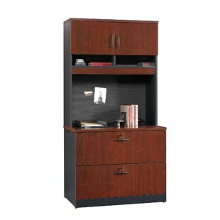 Castalia 2-Drawer Lateral Filing Cabinet with Hutch