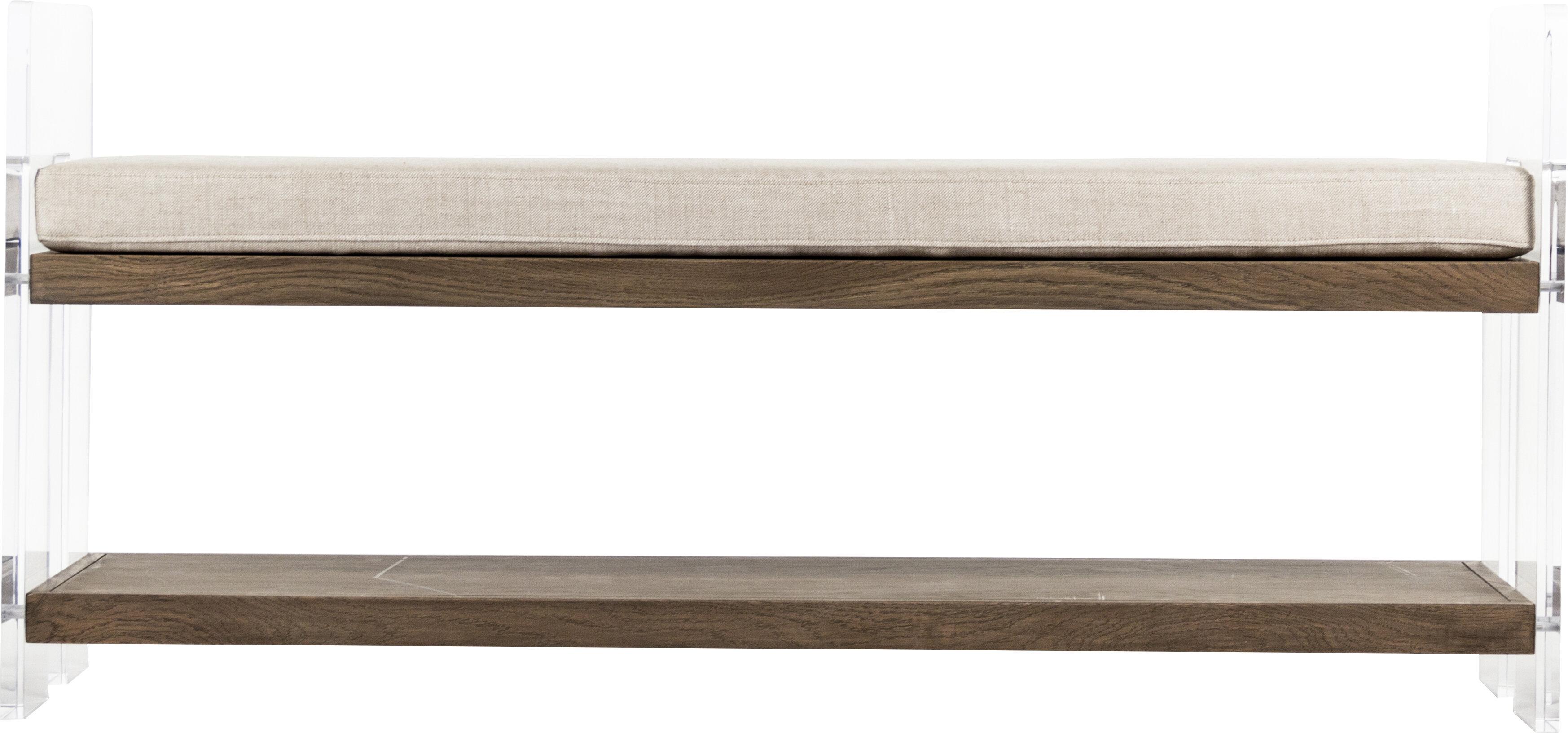 Fabric Storage Bench By Zentique