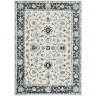 Price comparison Hawley Grey/White Area Rug By Three Posts
