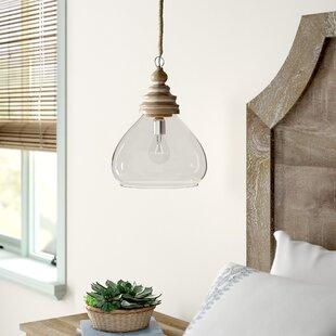 Brisa 1-Light Bell Ceiling Pendant