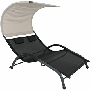 Brenna Double Chaise Lounge by Freeport Park Purchase