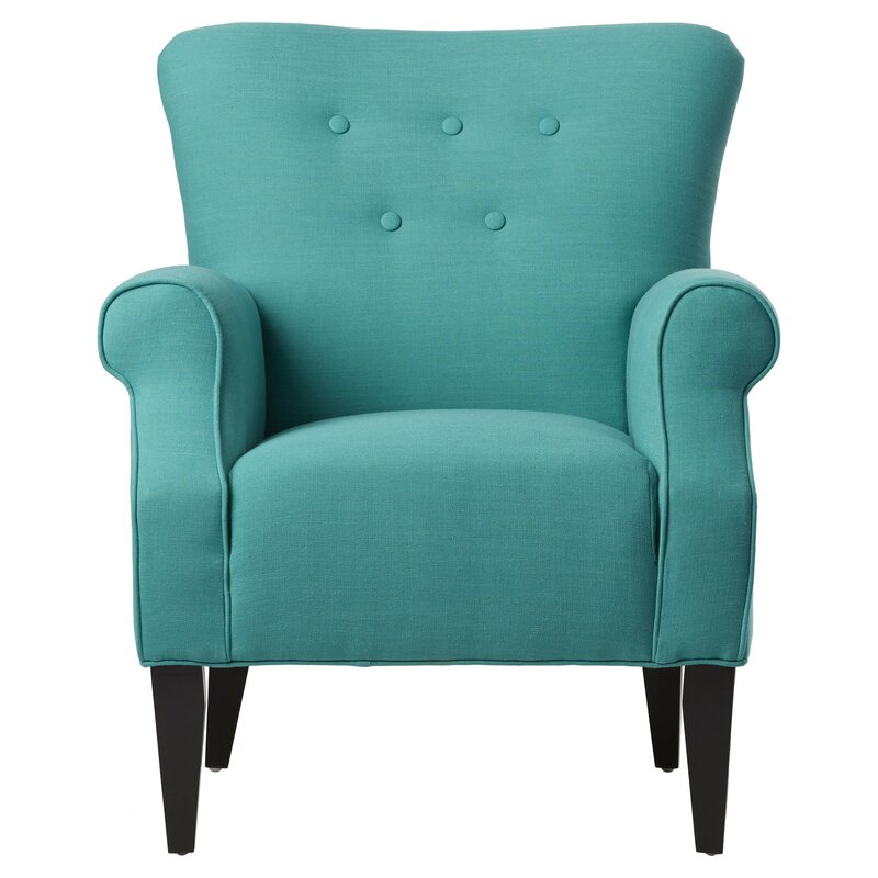 Manz Button Back Armchair
