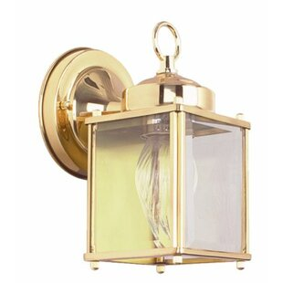 Voss Outdoor Wall Lantern by Winston Porter