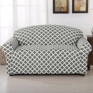 Brenna Box Cushion Loveseat Slipcover