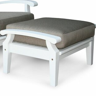 Lowery Ottoman with Cushion by Rosecliff Heights