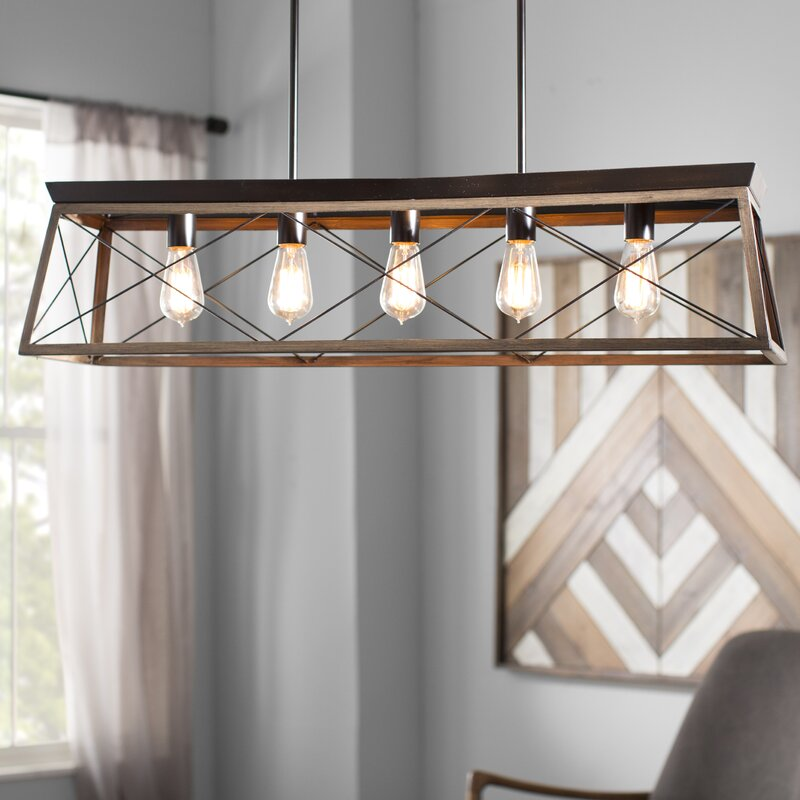 Delon 5 Light Kitchen Island Pendant