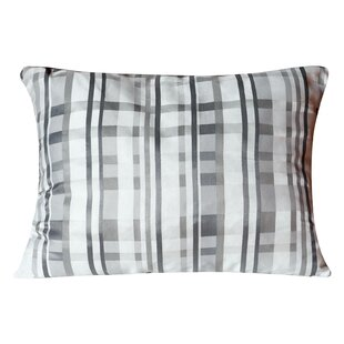 Maeva Checkered Print Kids Medium Foam Standard Pillow