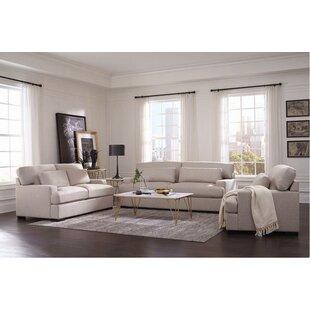Latitude Run Keturah 3 Piece Living Room Set