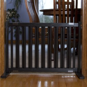 Amish Handcrafted Kensington Freestanding Pet Gate