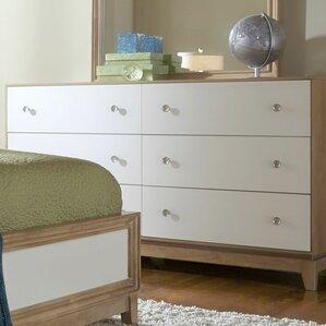 Hector 6 Drawer Dresser by Mercury Row