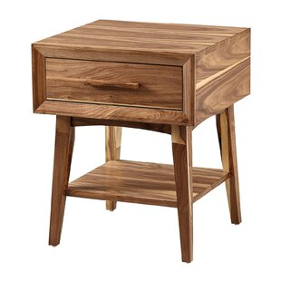 Parrott 1 Drawer Nightstand by Union Rustic