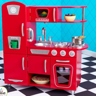 Red Play Kitchen Sets Accessories