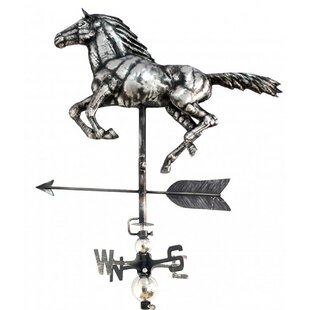 Alouette Horse Weathervane By August Grove