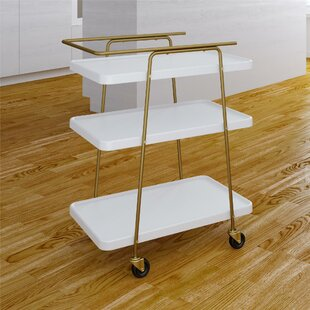 Corinne 3 Tier Bar Cart by Turn on the Brights