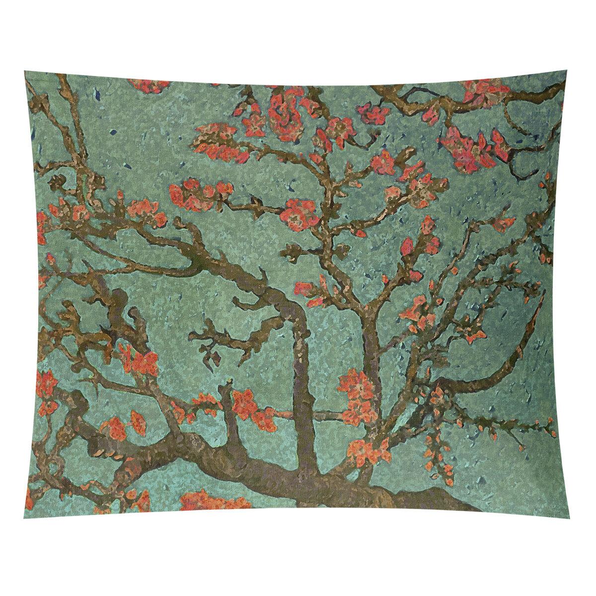 World Menagerie Almond Blossom Tapestry Wayfair