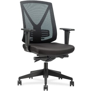 Lorell Steel Frame Mid-Back Mesh Desk Chair