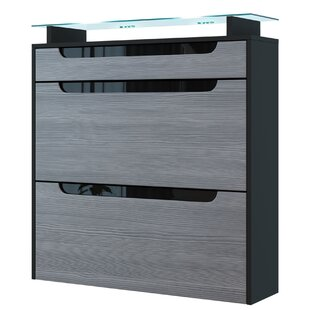 Annie 16 Pair Shoe Storage Cabinet By Vladon