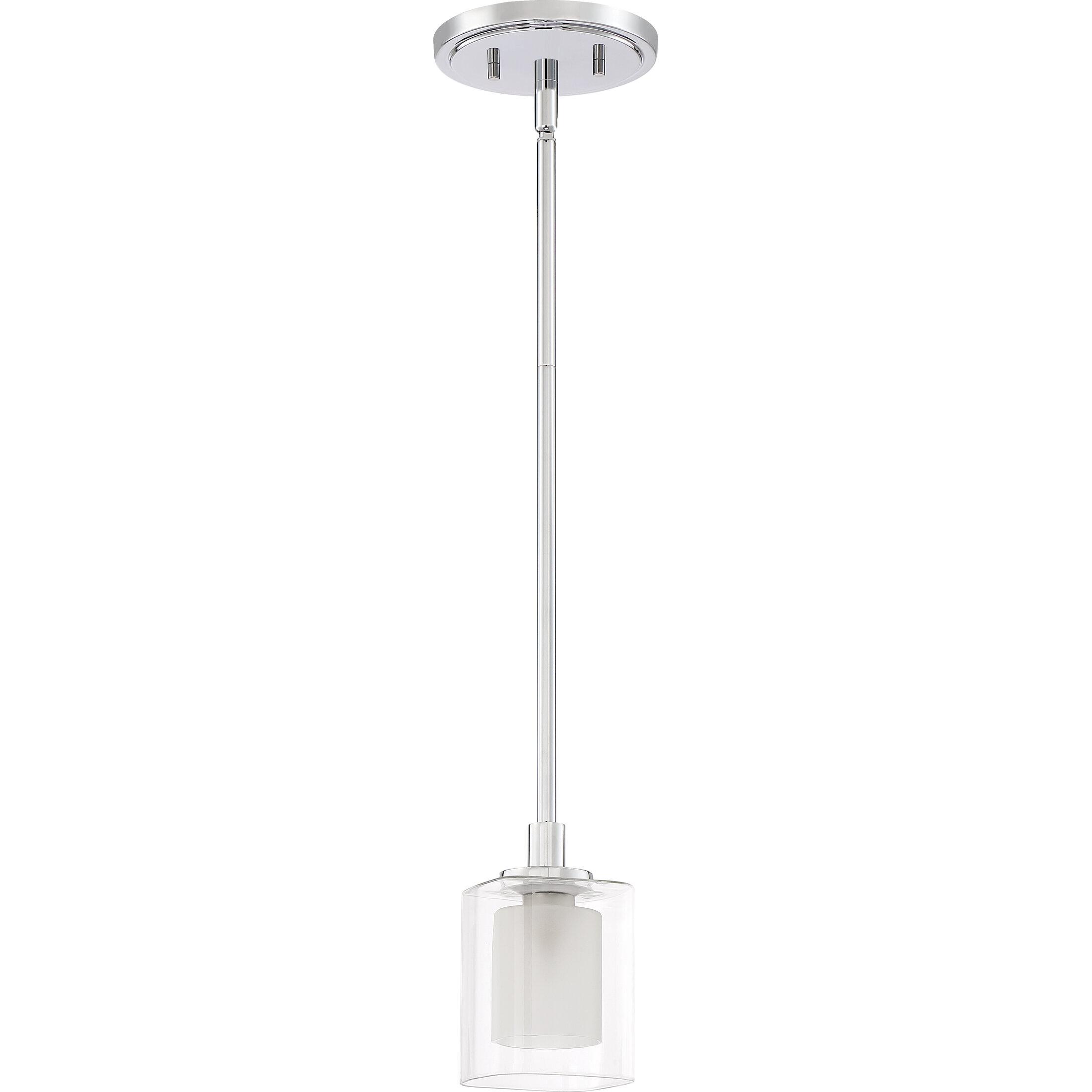 Latitude Run Moreland 1 Light Single Cylinder Pendant Wayfair