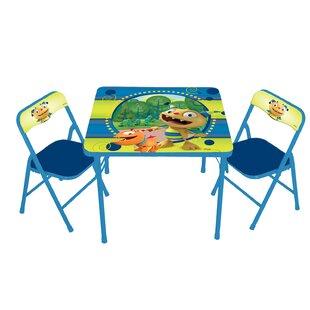 Henry Hugglemonster Kids Square Activity Table Set  sc 1 st  Wayfair & TV Character Themed Kids\u0027 Table \u0026 Chair Sets You\u0027ll Love | Wayfair
