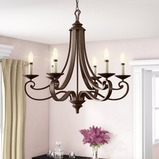 Earline 6-Light Chandelier..