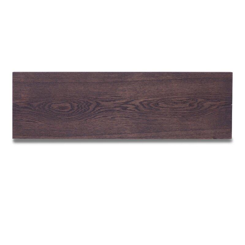 Zendaya Solid Oak Wood Floating Shelf