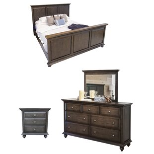 Dezirae Platform Configurable Bedroom Set