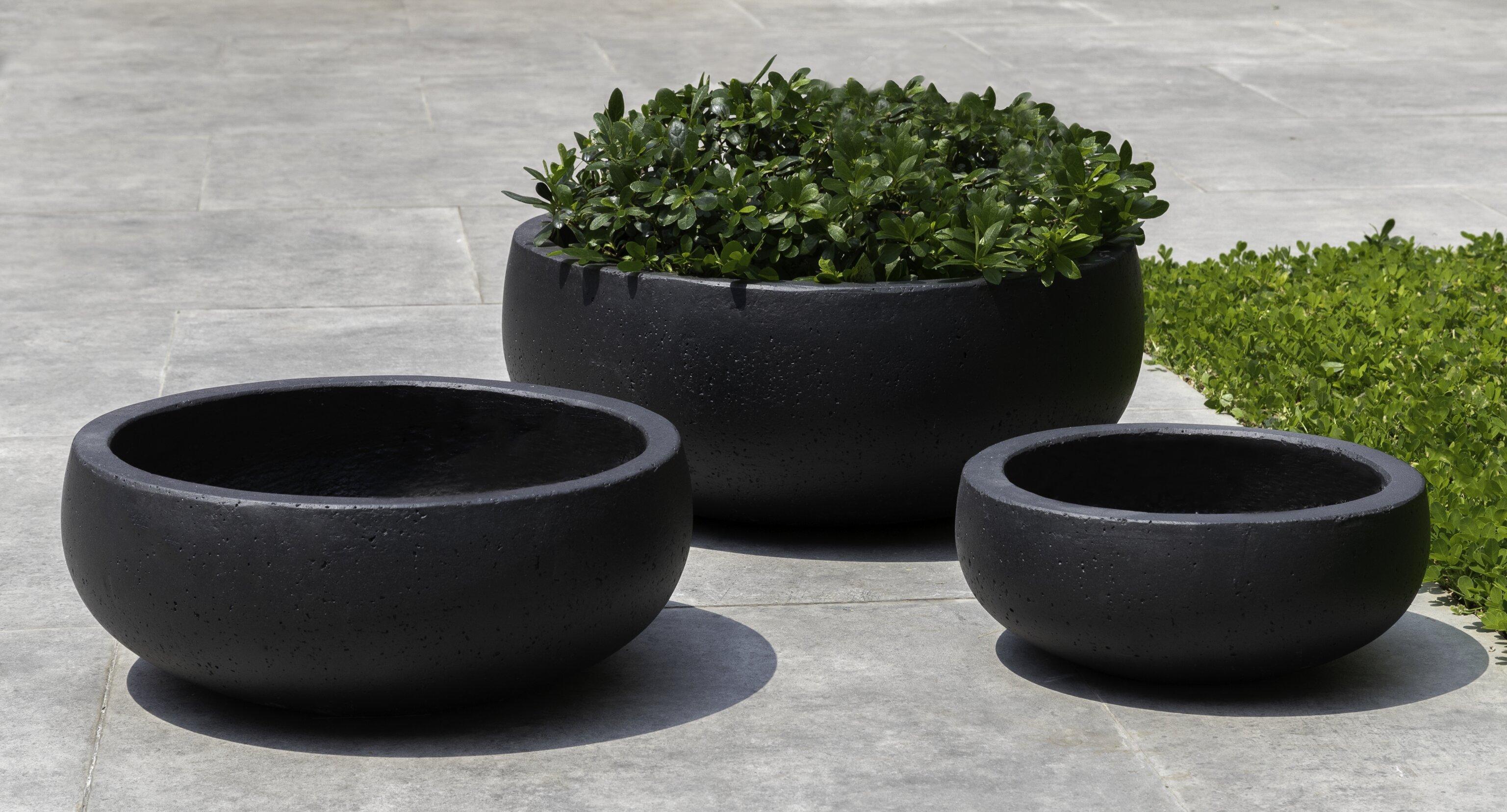 Brayden Studio Rio 3 Piece Composite Pot Planter Set Wayfair