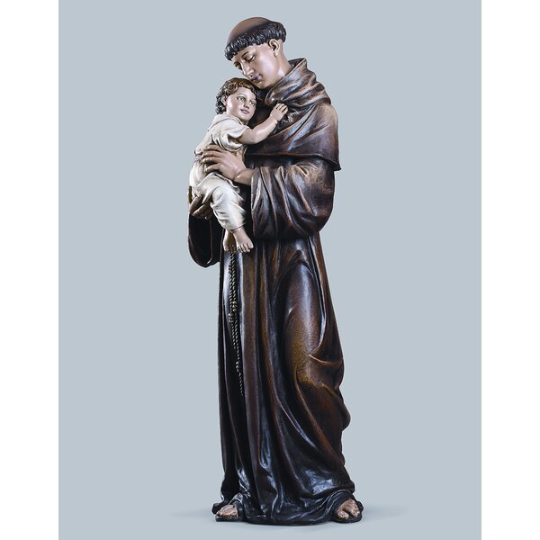 St Anthony Statues Wayfair