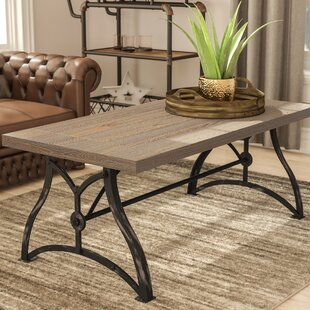 Best Reviews Winona Industrial Coffee Table By 17 Stories