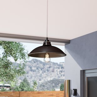 Cho 1-Light Outdoor Pendant by Ebern Designs