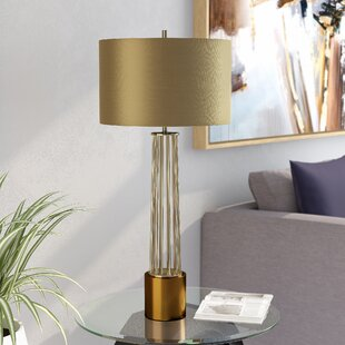 Clarafield Brass Rod 32 Table Lamp